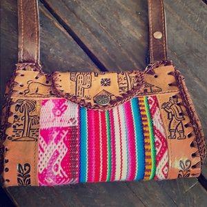 Handcrafted Peruvian 🇵🇪 mini bag (crossbody)